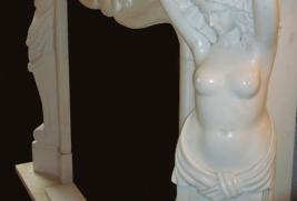 Mantel B202 – White Marble (#65)