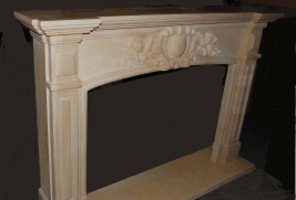 Mantel D408- Lt Yellow Marble (#55)