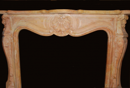Mantel E501- Lt Rusty Brown Marble (#27)
