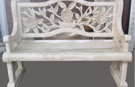 CSE1008 – Travertine Bench