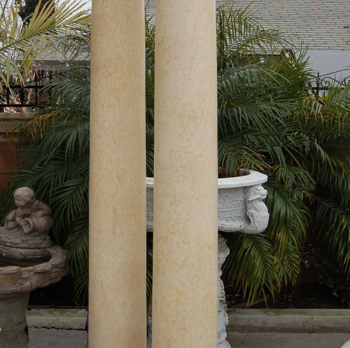 D463 – Egyptian Beige Tapered Columns