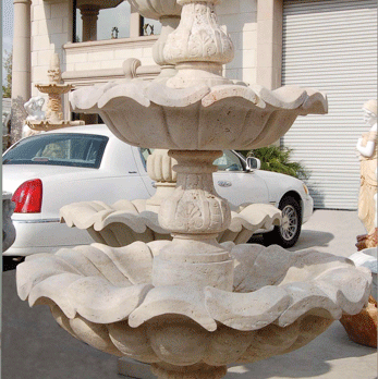 F0013 – Travertine Fountain