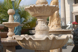 F0145 – Travertine Fountain