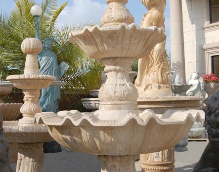 F0145 – Travertine Fountain