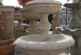 F0259 – Travertine Fountain