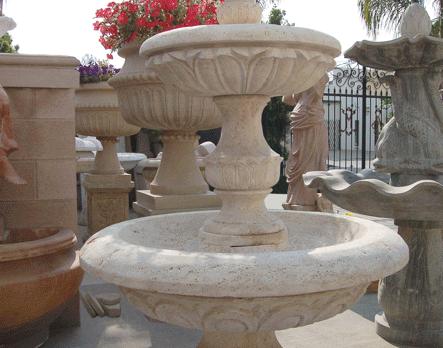 F0259 – Travertine Fountain
