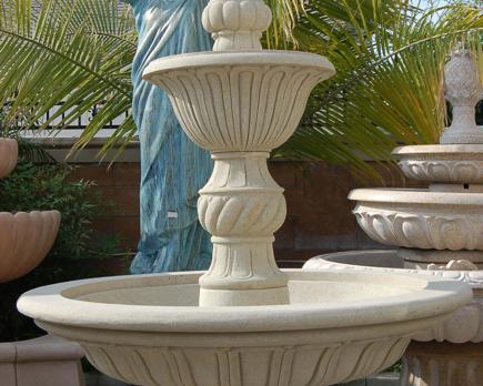 F0384 – Grey Sandstone Fountain