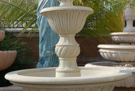 F0384 – Grey Sandstone Fountain