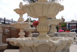 F1917 – Beige Sandstone Fountain