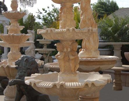 F255 – Travertine Fountain