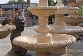 F265 – Travertine Fountain