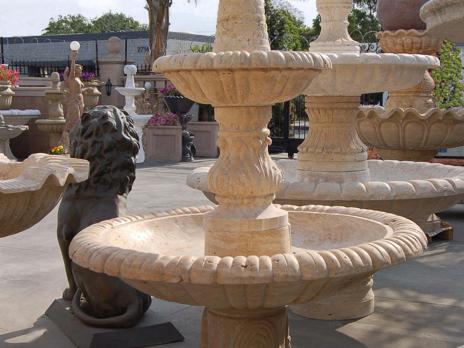 F265 – Travertine Fountain