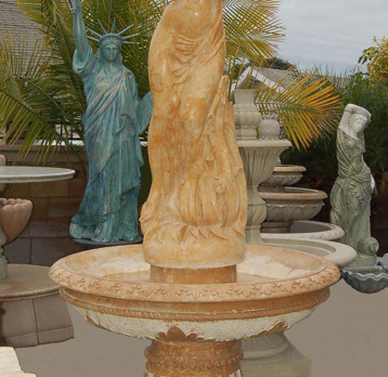 F316 – Yellow Marble Fountain