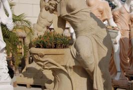 F321 – Beige Sandstone Fountain
