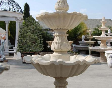 F334 – Beige Sandstone Fountain