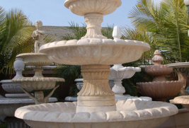 F348 – Travertine Fountain