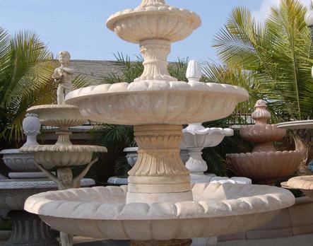 F348 – Travertine Fountain