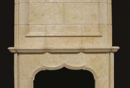 F6881– Egyptian Beige Overmantel (#152:#153)