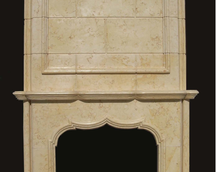 F6881– Egyptian Beige Overmantel (#152:#153)