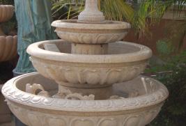 F770GR – Beige Granite Fountain