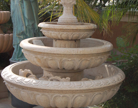 F770GR – Beige Granite Fountain