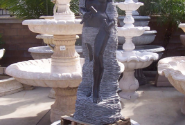 F900 – Black Marble Fountain
