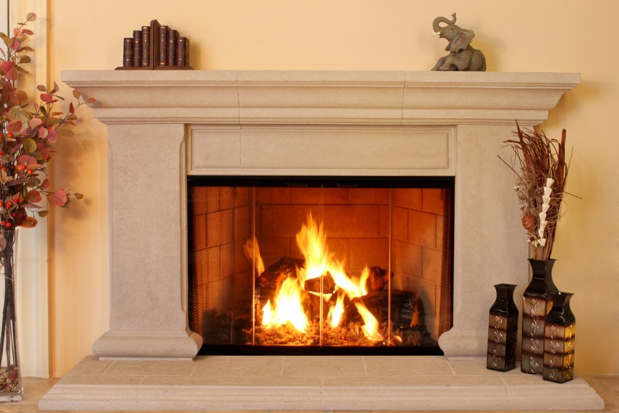 Role of Fireplace Mantels in Your Living Room