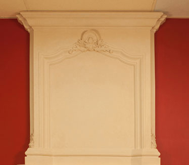 French Overmantel