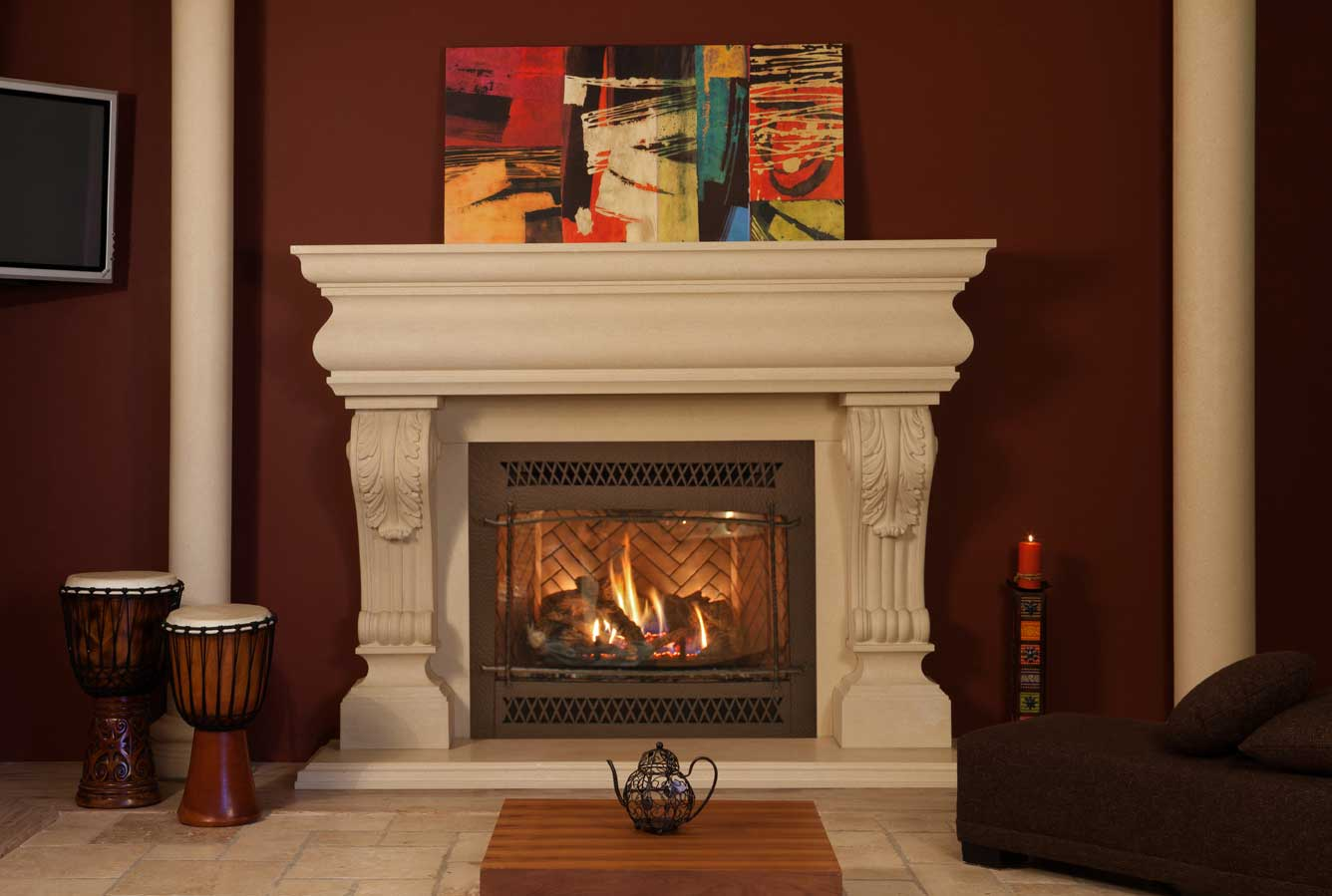 Fireplace Mantels, Surrounds, Los Angeles, Orange County, Ventura ...