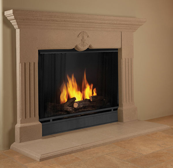 How to Clean Stone Fireplace Mantels