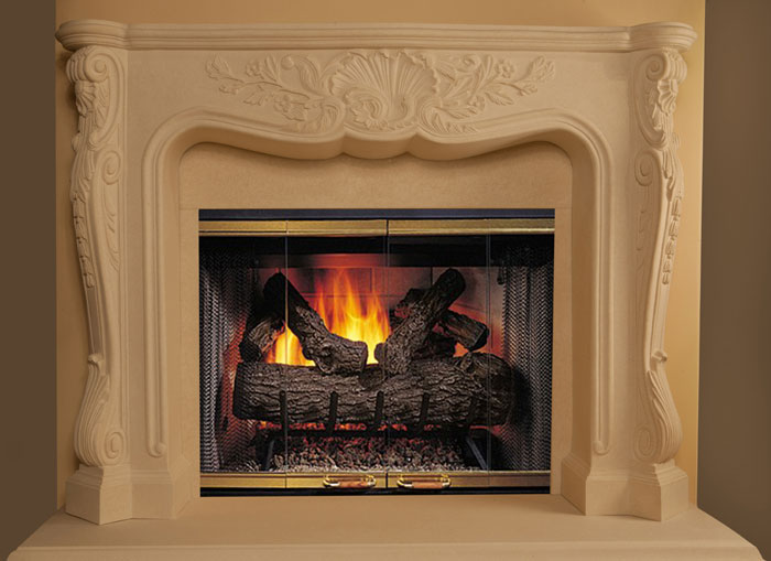 Ornate Fireplace Mantels Thousand Oaks