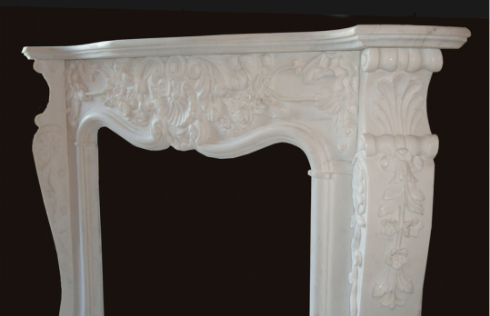 Marble Fireplace Mantels in Los Angeles