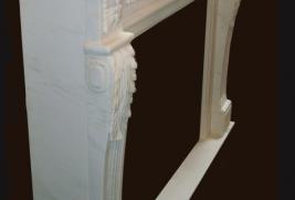 Mantel C8027– White Marble (#227)