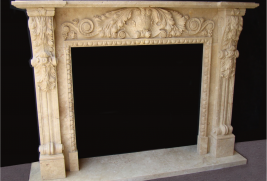 Mantel F101– Travertine (#214, 240)