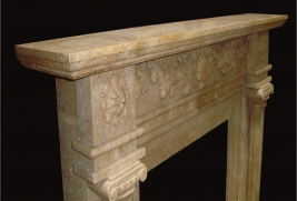 Mantel F2141– Travertine (#222)