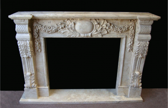 Mantel F6893– Travertine (#203)
