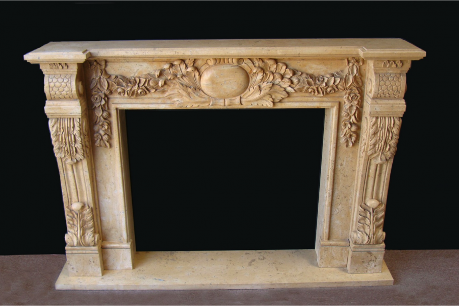 Natural Stone Fireplace Surround natural stone fireplace mantels los angeles, orange county