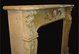 Mantel MB080– Yellow Marble (#236)