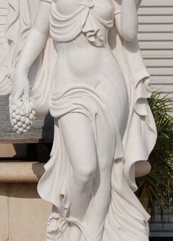 S889-1–White Marble Statue
