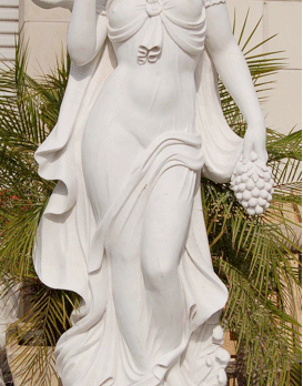S889-2 –White Marble Statue