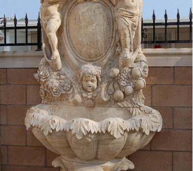 WF151 – Travertine Fountain
