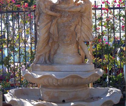WF333 – Yellow Marble Fountain