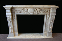 Rustic Fireplace Mantels in Los Angeles