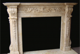 Stone Fireplace Mantels in Los Angeles