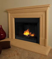 Contemporary Fireplace Mantels in Los Angeles