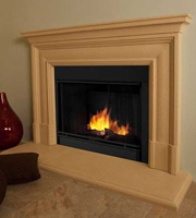 Modern Fireplace Mantels in Los Angeles