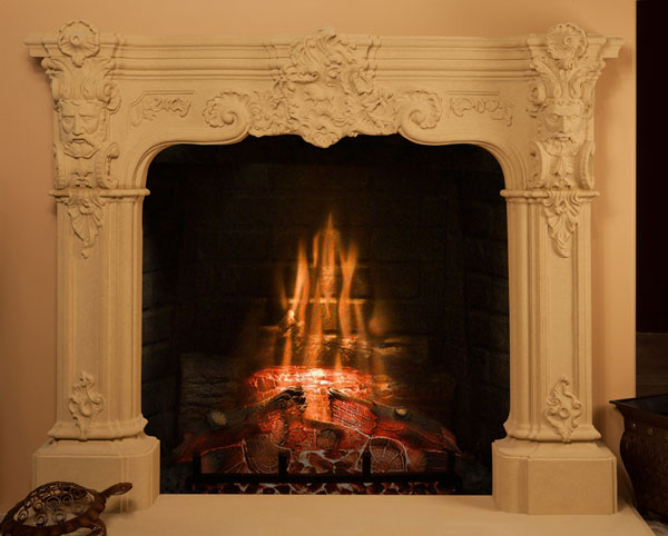 Ares 91 Socal Fireplace Mantels